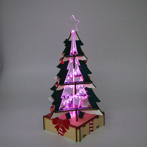[JIGZLE Home]<br>Christmas Tree Lamp