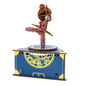 [JIGZLE Wooden Puzzle]<br>Classic Ballet Dancer Musical Box