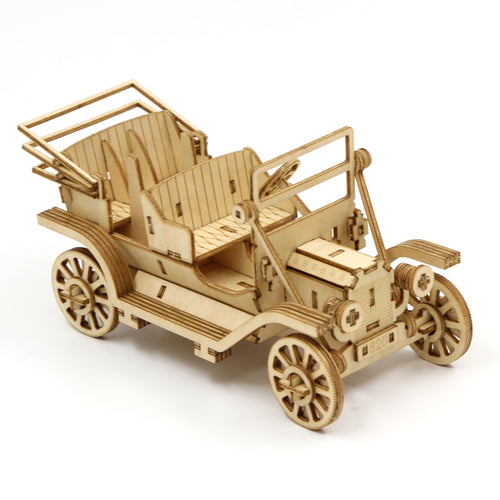 [JIGZLE Wooden Puzzle]<br>Classic Car Phone Stand