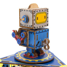 Load image into Gallery viewer, [JIGZLE Wooden Puzzle]<br>Classic Robot Musical Box