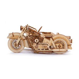 [JIGZLE Wooden Puzzle]<br>Classic Sidecar