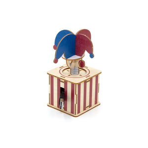 [JIGZLE Wooden Puzzle]<br>Clown Cable Box