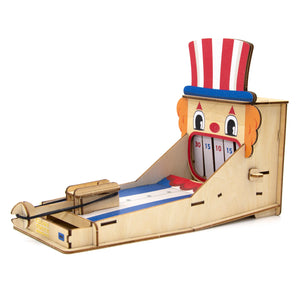 [JIGZLE Wooden Puzzle] <br>Clown Tooth Knockout
