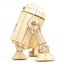 Load image into Gallery viewer, [INCREDIBUILDS Wooden Puzzle]<br>Star Wars - R2D2 (Collectable Edition)