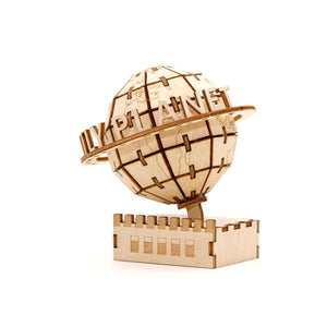 [INCREDIBUILDS Wooden Puzzle]<br>Daily Planet