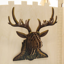 Load image into Gallery viewer, [JIGZLE Wooden Puzzle]<br>Deer Wall Deco