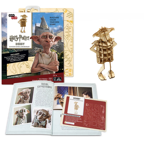 [ INCREDIBUILDS Wooden Puzzle]<br>Harry Potter - Dobby