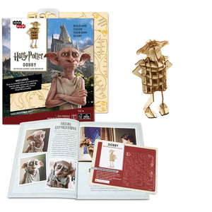 [INCREDIBUILDS Wooden Puzzle]<br>Harry Potter - Dobby