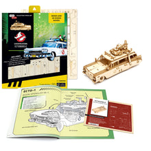 Load image into Gallery viewer, [INCREDIBUILDS Wooden Puzzle]<br>Ghostbusters Ectomobile