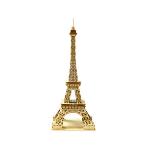 [JIGZLE Wooden Puzzle]<br>Eiffel Tower (Large)