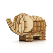 Load image into Gallery viewer, [JIGZLE Wooden Puzzle]<br>Elephant