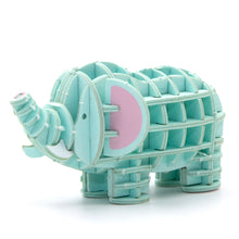 Load image into Gallery viewer, [JIGZLE Paper Puzzle]<br>Elephant (Color Ver.)