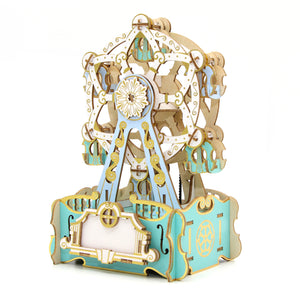 [JIGZLE Wooden Puzzle]Ferris Wheel Musical Box
