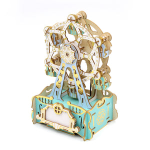 [JIGZLE Wooden Puzzle]<br>Ferris Wheel Musical Box