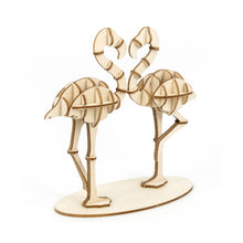 Load image into Gallery viewer, [JIGZLE Wooden Puzzle]<br>Flamingo