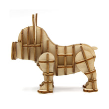 Load image into Gallery viewer, [JIGZLE Wooden Puzzle]<br>French Bulldog