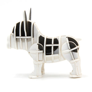 [JIGZLE Paper Puzzle]<br>French Bulldog Pied (Color Ver.)