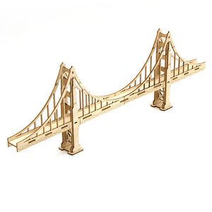 [JIGZLE Wooden Puzzle]<br>Golden Gate Bridge