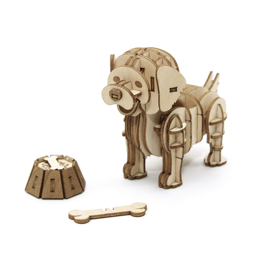 [JIGZLE Wooden Puzzle]<br>Golden Retriever