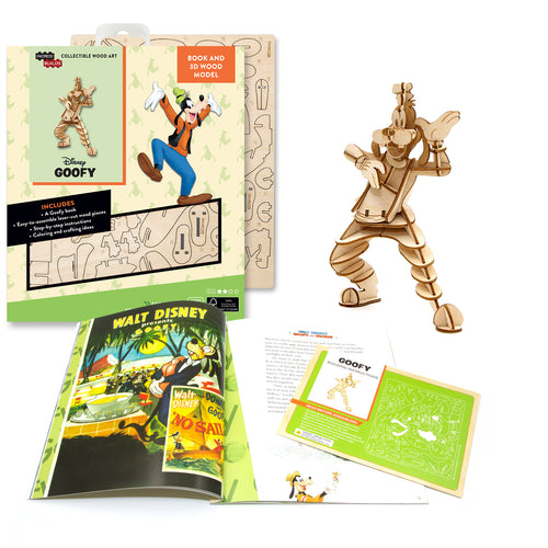[ INCREDIBUILDS Wooden Puzzle]<br>Goofy