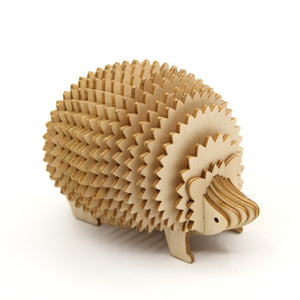 [JIGZLE Wooden Puzzle]<br>Hedgehog Card Holder