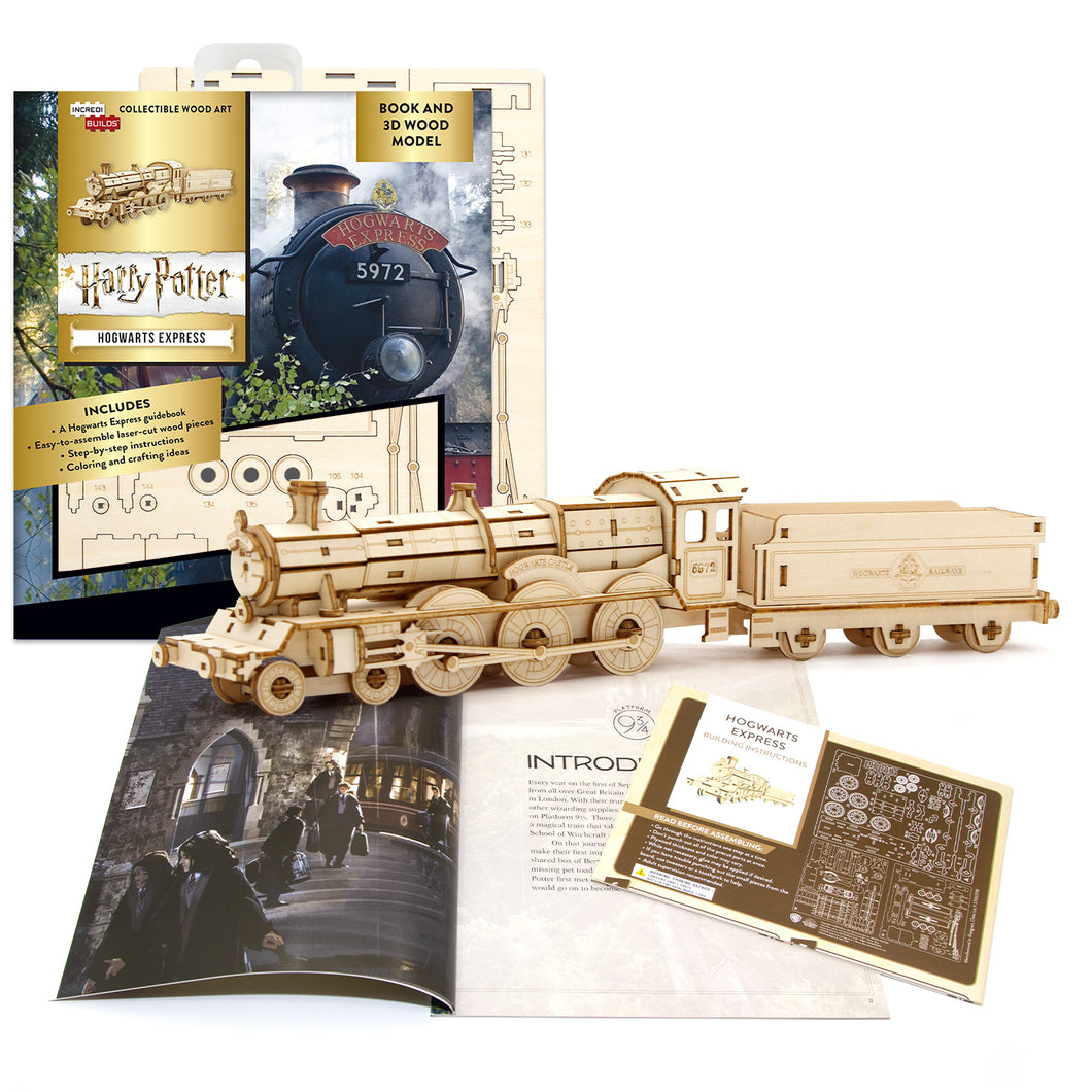 [ INCREDIBUILDS Wooden Puzzle]<br>Harry Potter - Hogwarts Express