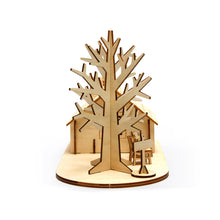 Load image into Gallery viewer, [JIGZLE Wooden Puzzle]<br>House and Tree Accessory Case