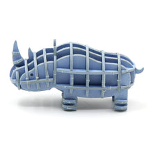 Load image into Gallery viewer, [JIGZLE Paper Puzzle]<br>Rhinoceros