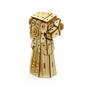 [INCREDIBUILDS Wooden Puzzle]<br>Infinity Gauntlet