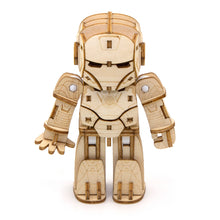 Load image into Gallery viewer, [INCREDIBOTS Wooden Puzzle]<br>Ironman