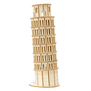 [JIGZLE Wooden Puzzle]<br>Leaning Tower of PISA