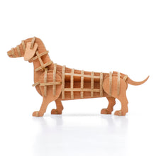 Load image into Gallery viewer, [JIGZLE Paper Puzzle]<br>Dachshund