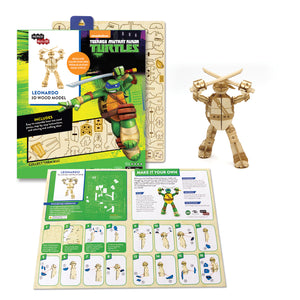 [INCREDIBUILDS Wooden Puzzle]<br>Leonardo