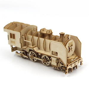 [JIGZLE Wooden Puzzle]<br>Steam Locomotive