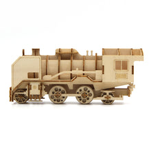Load image into Gallery viewer, [JIGZLE Wooden Puzzle]<br>Steam Locomotive