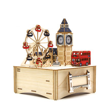 Load image into Gallery viewer, [JIGZLE Wooden Puzzle]<br>London Musical Box