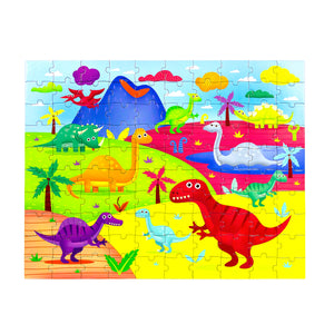 [PECO PAC 2D Puzzle]<br>DISCOVER DINOSAURA PUZZLE