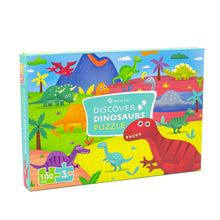 Load image into Gallery viewer, [PECO PAC 2D Puzzle]<br>DISCOVER DINOSAURA PUZZLE