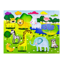 Load image into Gallery viewer, [PECO PAC 2D Puzzle]<br>DISCOVER ANIMALS PUZZLE