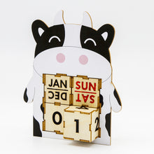 Load image into Gallery viewer, [TeamGreen Lifestyle]<br>Cow - Animal Perpetual Calendar