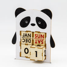 Load image into Gallery viewer, [TeamGreen Lifestyle]<br>Panda - Animal Perpetual Calendar