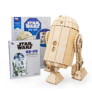 [INCREDIBUILDS Wooden Puzzle]<br>Star Wars - R2D2 (Collectable Edition)
