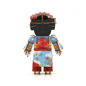 [JIGZLE Wooden Puzzle]<br>Maiko