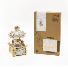 Load image into Gallery viewer, [JIGZLE Wooden Puzzle]<br>Merry Go Round Musical Box