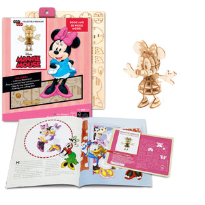 [ INCREDIBUILDS Wooden Puzzle]<br>Minnie Mouse