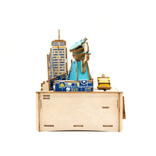 Load image into Gallery viewer, [JIGZLE Wooden Puzzle]<br>New York Musical Box