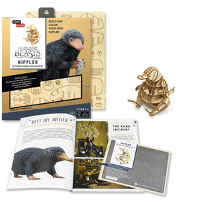 [ INCREDIBUILDS Wooden Puzzle]<br>Fantastic Beasts - Niffler
