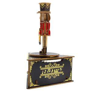 [JIGZLE Wooden Puzzle]<br>Nutcracker Musical Box