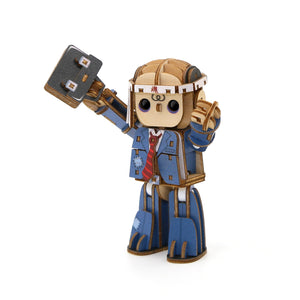 [JIGZLE Wooden Puzzle]<br>Officeman
