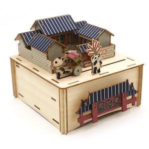 [JIGZLE Wooden Puzzle]<br>Old Beijing Musical Box